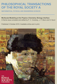 New Journal Issue on Multiscale Modelling to be Published